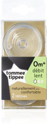 Tommee Tippee Cu 2 orificii - Flux lent x2
