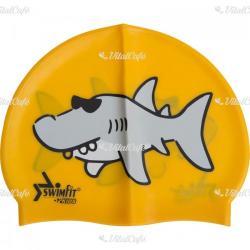 Swimfit Úszósapka Swimfit cápás narancssárga (204000059)