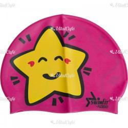 Swimfit Úszósapka Swimfit csillagos rózsaszín (204000063)
