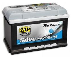 ZAP Silver Premium 75Ah 750A left+