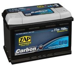 ZAP Carbon EFB 77Ah 750A left+