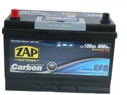 ZAP Carbon EFB 100Ah 800A borna normala