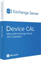 Microsoft Exchange Server 2013 Standard Device CAL 381-04396