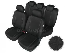 Set huse scaun model Hermes Black pentru Ford Kuga 2 dupa 2013, set huse auto Fata + Spat