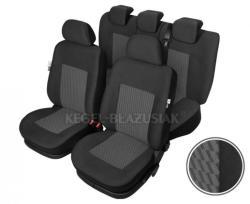 Set huse scaun model Perun pentru Ford Focus 3 2014, culoare Gri, set huse auto Fata si Spat