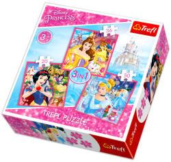 Trefl Disney Princess 3in1 (34833)