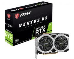 MSI GeForce RTX 2060 VENTUS XS OC 6G GDDR6 192bit (RTX 2060 VENTUS XS 6G OC)