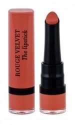 BOURJOIS Paris Rouge Velvet The Lipstick червило 2, 4 гр за жени 15 Peach Tatin