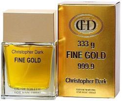 Christopher Dark Fine Gold EDT 100ml