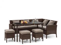 Blumfeldt Titania Dining Lounge Set