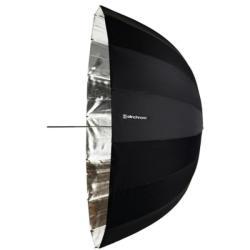 Elinchrom #26353 Deep Silver - Umbrela de reflexie, argintiu, 125 cm