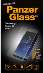 PanzerGlass sticla securizata PREMIUM Samsung Galaxy S8 Clear (5711724071096)