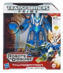 Hasbro Transformers Prime Robots in Disguise Voyager Class - Thundertron