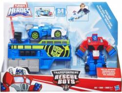 Hasbro Transformers Rescue Bots Optimus Prime Racing Trailer B5584