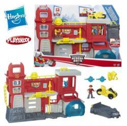 Hasbro Transformers Rescue Bots Griffin Rock Firehouse Headquarters B5210 pompieri