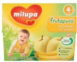 Milupa Frutapura Alma-Banán gyümölcspép 4x100g (4 hónapos kortól )
