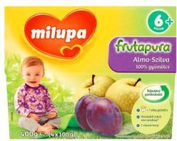 Milupa Frutapura Szilva-Alma gyümölcspép 4x100g (6 hónapos kortól)