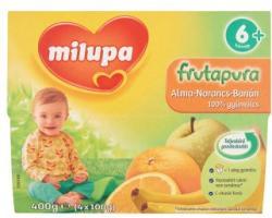 Milupa Frutapura Alma-Narancs-Banán gyümölcspép 4x100g (6 hónapos kortól )