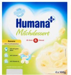Humana Tejdesszert Banán 4x100g