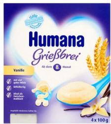 Humana Puding vanília-grízes 4x100g