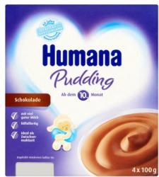 Humana Puding csokoládé 4x100g