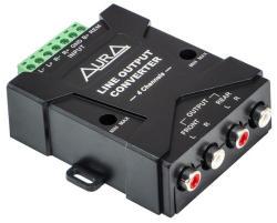 Aura Adaptor High-Low Aura RHL-0604 4 canale (RHL-0604)