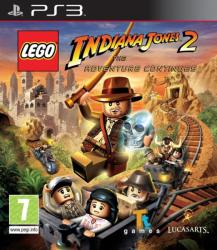 LucasArts LEGO Indiana Jones 2 The Adventure Continues (PS3)