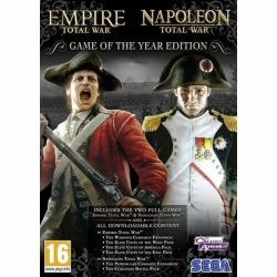 SEGA Empire & Napoleon Total War [Game of the Year Edition] (PC)