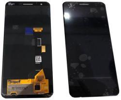 NBA001LCD004306 Gyári Google Pixel 3A fekete LCD kijelző érintővel
