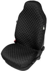 Husa scaun auto COMFORT pentru Volkswagen Amarok, culoare negru, bumbac + polyest