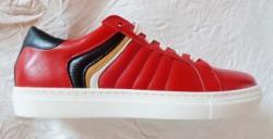 Carcover Pantofi sport femei - piele naturala marca Carcover 02 rosu