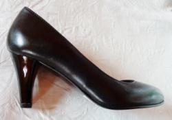 Coty Noir Pantofi cu toc femei - piele naturala Mode marca Coty Noir negru