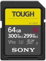 Sony SDXC 64GB UHS-II/C10/U3/V90 SF64TG