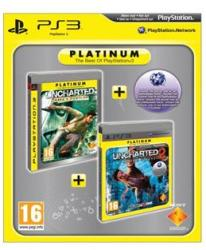 Sony Double Pack: Uncharted Drake's Fortune + Uncharted 2 Among Thieves [Platinum] (PS3)