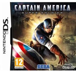 SEGA Captain America Super Soldier (Nintendo DS)