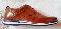 Off Road Pantofi casual barbati - piele naturala Rod marca Off Road maro cognac