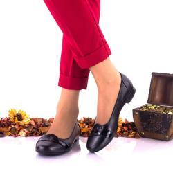 Made In Romania Pantofi dama casual din piele naturala si piele lacuita NA146