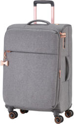 TITAN Barbara M - 4 kerekű bővíthető közepes bőrönd