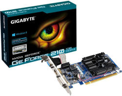 GIGABYTE GeForce 210 1GB GDDR3 64bit PCI-E (GV-N210D3-1GI)
