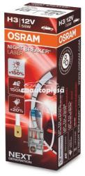 OSRAM Bec Osram H3 Night Breaker Laser Next Gen (+150% lumina) 12V 55W 64151NL