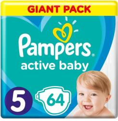 Pampers Active Baby 5 Junior (11-16kg) 64db