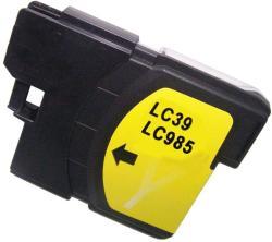 Utángyártott Brother LC985Y Yellow