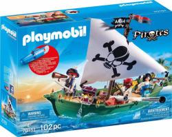 Playmobil Kalózhajó víz alatti motorral (70151)