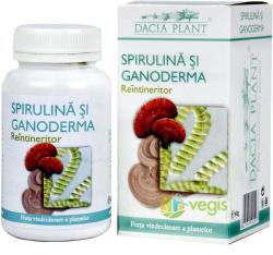DACIA PLANT Spirulina si ganoderma - 60 comprimate
