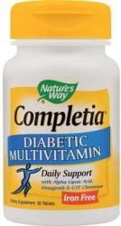Nature's Way Completia Diabetic Multivitamin - 30 comprimate