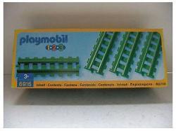 Playmobil Egyenes sín - 4db (6916)