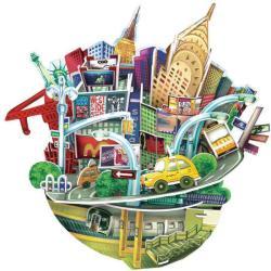 CubicFun City Scape - New York 3D OC3203h