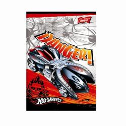 UNIPAP Hot Wheels füzet A5 60 lapos kockás UN0997K