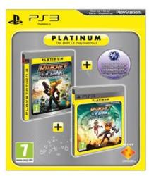 Sony Ratchet & Clank Tools of Destruction + Ratchet & Clank A Crack in Time Twin Pack [Platinum] (PS3)