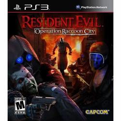 Capcom Resident Evil Operation Raccoon City (PS3)